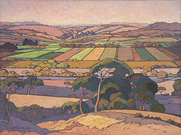 An Extensive View of Farmlands, 1926
