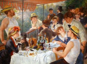 Auguste_Renoir, Luncheon of the Boating Party, 1880-1881.