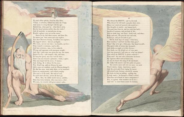 William Blake, Time