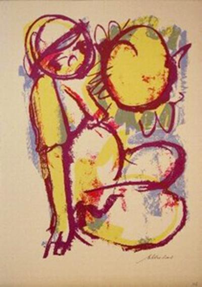 claerhout suncatcher painting