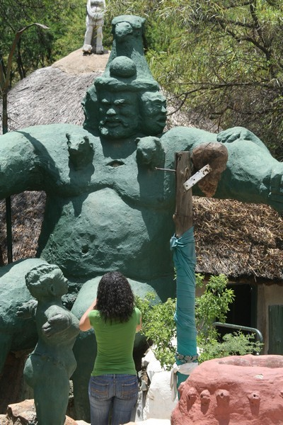 Nkulu Nkulu, God the father and the chief of creation - Soweto village