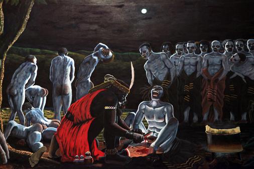"Trevor Makhoba, ""Circumcision"""