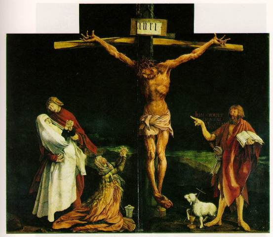 Grünewald's Crucifixion in the Isenheim Altarpiece