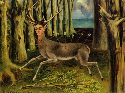 "Frida Kahlo's  "" Wounded Deer."""